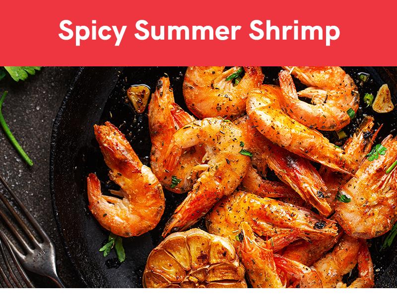 Spicy Summer Shrimp Recipe