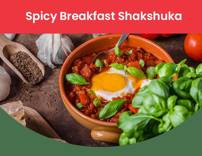 Spicy Breakfast Shakshuka